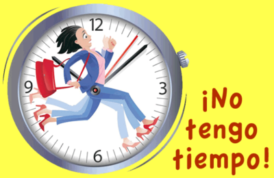¡No tengo tiempo!
