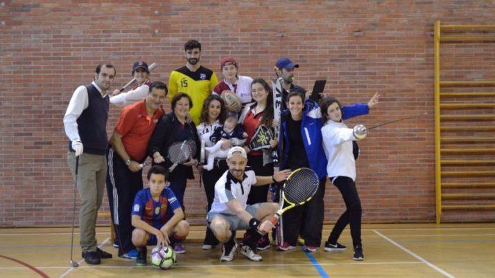 Una familia deportista