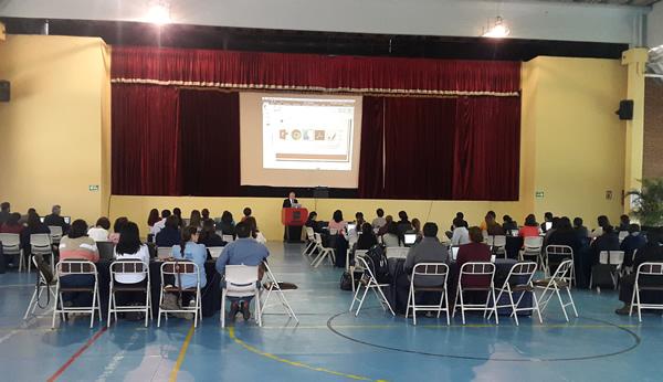 Una de las sesiones que tuvo lugar en Guatemala